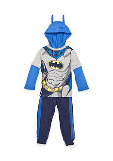 Nannette Batman Hoodie and Pant Set Toddler Boys