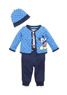 Disney® 3-Piece Mickey Mouse Shirt, Pants, and Hat Set