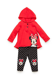 Nannette 2-Piece Minnie Mouse Hoodie and Pants Set Infant Girls