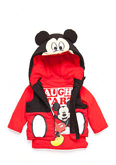 Disney 2-Piece Mickey Mouse Tee and Vest Set