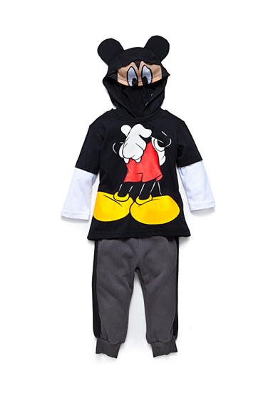 Disney® 2-Piece Mickey Mouse Fleece and Jogger Pants Set