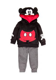 Nannette 2-Piece Mickey Mouse Hoodie and Pant Set