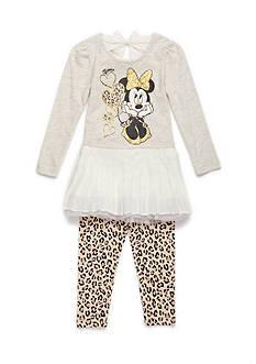 Nannette 2-Piece Minnie Mouse Legging Set Baby/Infant Girl