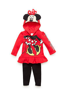 Disney 2-Piece Minnie Mouse Hooded Top and Legging Set