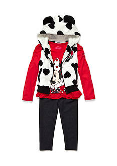 Disney Minnie Mouse 3-Piece Vest Set Toddler Girls