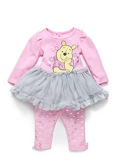 Disney 2-Piece Winnie the Pooh Tutu and Legging Set