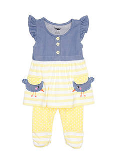 Nannette 2-Piece Bird Legging Set