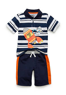 Boyz Wear by Nannette 2-Piece Rocket Short Set