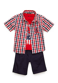 Nannette 3-Piece 'All American Dude' Set Toddler Boys