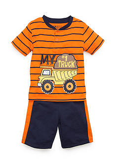 Boyz Wear by Nannette Knit 2-Piece Shorts Set Toddler Boys