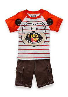 Nannette 2-Piece Monkey Short Set Toddler Boys