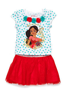 Disney Princess Elena of Avalor 2-Piece Top and Skirt Set Toddler Girls