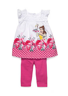 Disney Princess Belle 2-Piece Tank and Leggings Set Toddler Girls