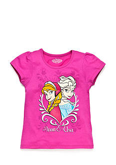 Disney® Printed Frozen Sisters Top Toddler Girls