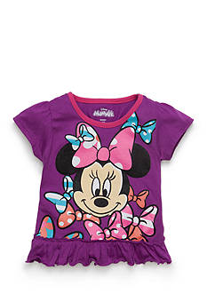 Disney® Minnie Mouse Ruffle Top Toddler Girls