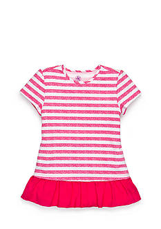 J Khaki™ Stripe Babydoll Top Toddler Girls
