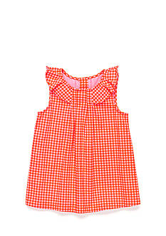J Khaki™ Gingham Tank Toddler Girls