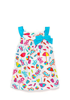 J Khaki™ Beach Print Tank Toddler Girls