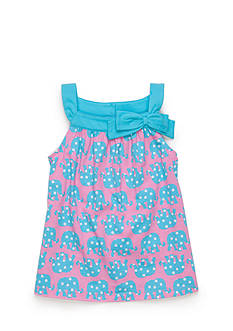 J Khaki™ Sleeveless Elephant Babydoll Top Toddler Girls