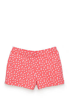 J Khaki™ Knit Polka Dot Shorts Toddler Girls