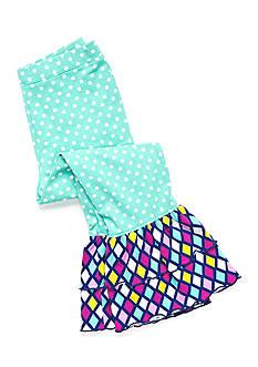 J. Khaki Polka Dot Ruffle Leggings Toddler Girls