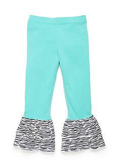 J. Khaki Animal Ruffle Pants Toddler Girls