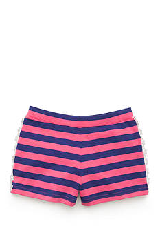 J. Khaki® Crochet Trim Short Toddler Girls