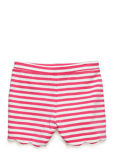 J. Khaki® Stripe Scallop Short Toddler Girls