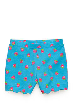 J. Khaki® Strawberry Scallop Short Toddler Girls