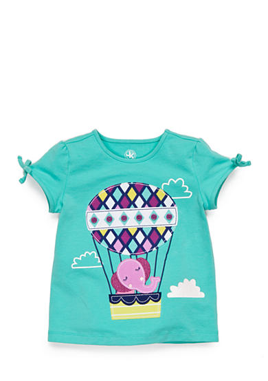 J. Khaki® Balloon Elephant Top Toddler Girls