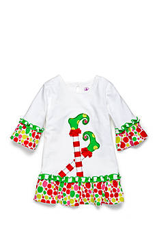 J. Khaki Elf Top Toddler Girls