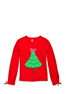 J. Khaki Ribbon Tree Top Girls Toddler Girls