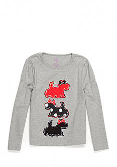 J. Khaki Scotties Tee Girls Toddler Girls