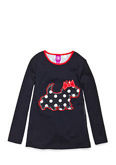 J. Khaki Scottie Tee Toddler Girls