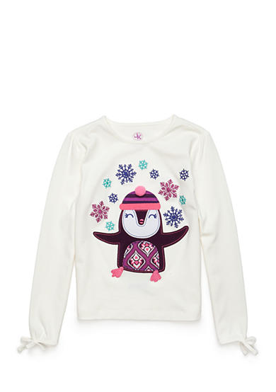 J. Khaki® Penguin Tee Toddler Girls