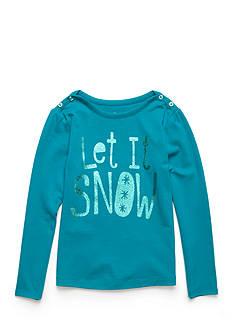 J. Khaki Let It Snow Tee Toddler Girls