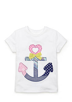J. Khaki Anchor Top Girls Toddler Girls