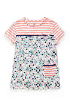 J. Khaki Knit Babydoll Top Toddler Girls