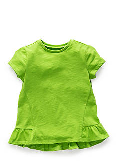 J. Khaki Basic Ruffle Top Toddler Girls