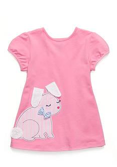 J. Khaki Bunny Babydoll Top Girls Toddler Girls