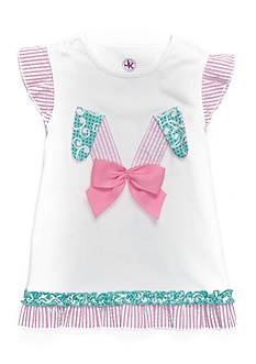 J. Khaki Bunny Ears Top Toddler Girls