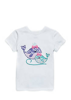 J. Khaki Whale Tee Toddler Girls