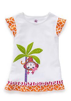 J. Khaki Monkey Tee Toddler Girls