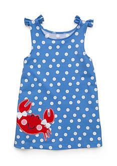 J. Khaki Crab Polka Dot Tank Top Toddler Girls