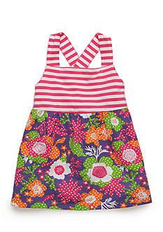 J. Khaki Flower Tank Toddler Girls