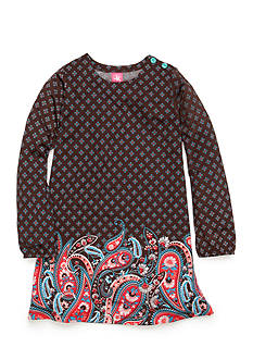 J. Khaki® Paisley Print Dress Toddler Girls