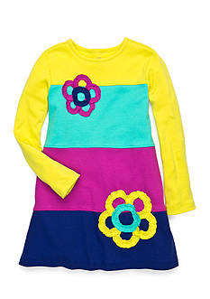 J Khaki™ Colorblock Knit Dress Toddler Girls