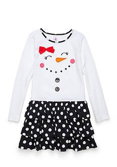 J. Khaki Snow Girl Dress Toddler Girls