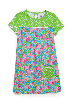 J. Khaki® Strawberry Dress Toddler Girls