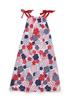 J. Khaki Multi Print Tank Dress Toddler Girls